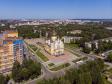 Саранск - столица Республики Мордовия с высоты.. Пересечение улиц Марины Расковой и Ульянова
