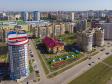Саранск - столица Республики Мордовия с высоты.. Центр развития ребенка-детский сад №13 на улице Волгоградской