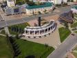 Саранск - столица Республики Мордовия с высоты.. Монумент Вечной славы в память о мордовских воинах, павших во время Великой Отечественной войны