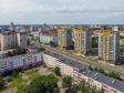 Саранск - столица Республики Мордовия с высоты.. Улица Коммунистическая