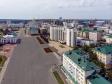 Саранск - столица Республики Мордовия с высоты.. Улица Советская. Дом Республики.