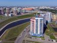 Саранск - столица Республики Мордовия с высоты.. Новые дома на р.Тавла