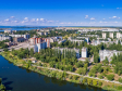 Необычный взгляд на город Балаково. начало улицы Степной