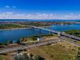Необычный взгляд на город Балаково. Мост Победы