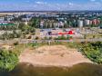 Необычный взгляд на город Балаково. Городской пляж. улица Набережная Леонова.