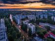 Необычный взгляд на город Балаково. улица Факел Социализма на закате. Справа Средняя общеобразовательная школа №2