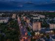 Необычный взгляд на город Балаково. улица Факел Социализма  на закате после дождя.