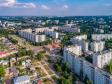 Необычный взгляд на город Балаково. Улица Братьев Захаровых. В центре пожарная часть №21.
