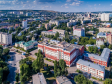 Взгляд с высоты на Саратов и Волгу . Саратовский железнодорожный техникум и Свято-Никольский мужской монастырь