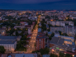 Взгляд с высоты на Саратов и Волгу . Улица Вавилова