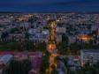Взгляд с высоты на Саратов и Волгу . Перекресток Астраханской и Вавилова, бизнес-центр Ковчег.