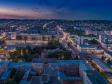 Взгляд с высоты на Саратов и Волгу . Театральная площадь и улица Радищева