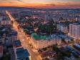 Взгляд с высоты на Саратов и Волгу . Улица Кутякова