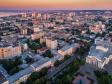 Взгляд с высоты на Саратов и Волгу . Саратов на рассвете и срава Саратовский Академический Театр