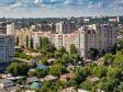Взгляд с высоты на Саратов и Волгу . Кировский район Саратова