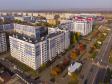 Нижнекамск золотой осенью. улица Баки Урманче