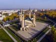 Нижнекамск золотой осенью. Центральная соборная мечеть Нижнекамска