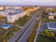 Нижнекамск золотой осенью. проспект Строителей