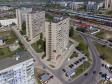 Тольятти с высоты (2021). Улица Железнодорожная в микрорайоне Шлюзовом
