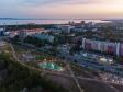 Тольятти с высоты (2021). Сквер имени 50 лет АВТОВАЗа на улице Революционной