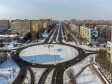 Тольятти с высоты (2021). Кольцо на пересечении улиц Свердлова и Ворошилова.
