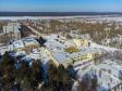 Тольятти с высоты (2021). Поселок Поволжский, относящийся к Комсомольскому району Тольятти