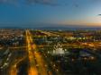 Тольятти с высоты (2021). Преображенский собор и улица Юбилейная