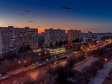 Тольятти с высоты (2021). Улица Революционная. Вид на 1 квартал.