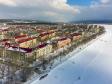 Тольятти с высоты (2021). Микрорайон Шлюзовой. Набережная улица Носова