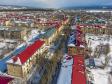 Тольятти с высоты (2021). Улица Никонова в микрорайоне Шлюзовом