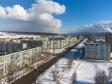 Тольятти с высоты (2021). Вид на улицу Гидротехническую в микрорайоне Шлюзовом