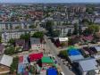 Тольятти с высоты (2021). Улица Чапаева в Центральном районе