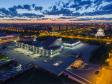 """Тольятти с высоты (2021). Культурный центр """"Автоград"""" (ранее назывался Дворец культуры и техники АВТОВАЗа)"""