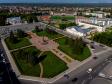Тольятти с высоты (2021). Площадь Свободы. Администрация городского округа Тольятти.