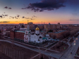 Тольятти с высоты (2021). Поволжский православный институт им. Святителя Алексия Московского