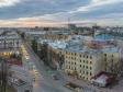 Петроградский район с высоты. Каменноостровский проспект вечером