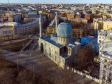 Петроградский район с высоты. Соборная мечеть г. Санкт-Петербурга