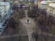 Петроградский район с высоты. Сквер Низами на Каменноостровском проспекте
