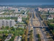 Flying over the city . Ленинский проспект