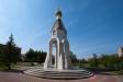 Temples of Moscow Region. Часовня Георгия Победоносца находится в городе Ступино. Была основана в 2005 году в память победы в Великой Отечественной войне.