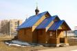 Temples of Moscow Region. Строительство храма во имя Державной иконы Божией Матери было закончено летом 2006 года. Находится он на территории бывшего поселка Приокск, который в настоящее время входит в границы города Ступино. Службы в храме проходят регулярно.