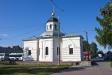 莫斯科郊区教堂. Никольская часовня была построена в первой половине 19 века. В 1960-х годах была уничтожена. В 2002г. на ее месте возвели часовню Николая Чудотворца, максимально приблизив к внешнему облику предшественницы. Представляет собой восьмигранник под куполом с боковыми пристройками.