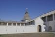 Астраханский кремль. Артиллерийский двор располагался у Пыточной башни, примыкал к городским стенам.