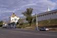 Astrakhan Kremlin. Деревянная церковь в честь Святителя Николая была построена в центре кремля во второй половине 16 века. В процессе строительства каменного кремля она была перенесена на северные проездные ворота. В 1728 году церковь за ветхостью была разобрана. По инициативе астраханского купечества, в 1739 году был выстроен новый храм в древнерусском стиле. В советское время в здании размещались гужмастерские. В 1974 году Никольская церковь была передана Астраханскому краеведческому музею. В 1980-х гг. была начата ее реставрация. Храм был передан верующим в 2003 году.