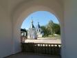 Kizichesky (Svyato-Vvedensky) monastery. Часовня Новомучеников и Исповедников Российских выстроена из кирпича в 2006-2007 гг. Расположена в центре монастырского двора.
