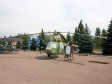 Парк Победы. Многоцелевой вертолет, конструктор - М.Л.Миль. Вертолет выпускался с 1961 по 1992 годы. Широко использовался для выполнения как военных, так и гражданских задач. За все время производства было выпущено более 5400 единиц.