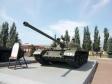 Парк Победы. Основной боевой танк, конструктор - Л.Н.Карцев. Принят на вооружение в 1958 году. Число выпущенных Т-55 (54) до 1986 года сравнимо с числом всех остальных танков, выпущенных в мире после Второй Мировой войны (всего их было выпущено более 70 000 единиц, из них 50 000 - в Советском Союзе). Первый серийный танк преодолевал водные преграды благодаря полной герметичности. Состоял на вооружении Советской армии и армий стран Варшавского договора. Использовался в Арабо-Израильских войнах, в Африке и Южном Вьетнаме.