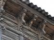 Wooden carving of old Samara. город Самара, ул. Галактионовская, 209