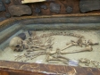 "Museum of history of Naberezhnye Chelny. Экспозиция ""Археология. Волжская Булгария"". Захоронение древнего человека."