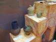 """Museum of history of Naberezhnye Chelny. Экспозиция """"Археология. Волжская Булгария"""". Предметы из керамики."""